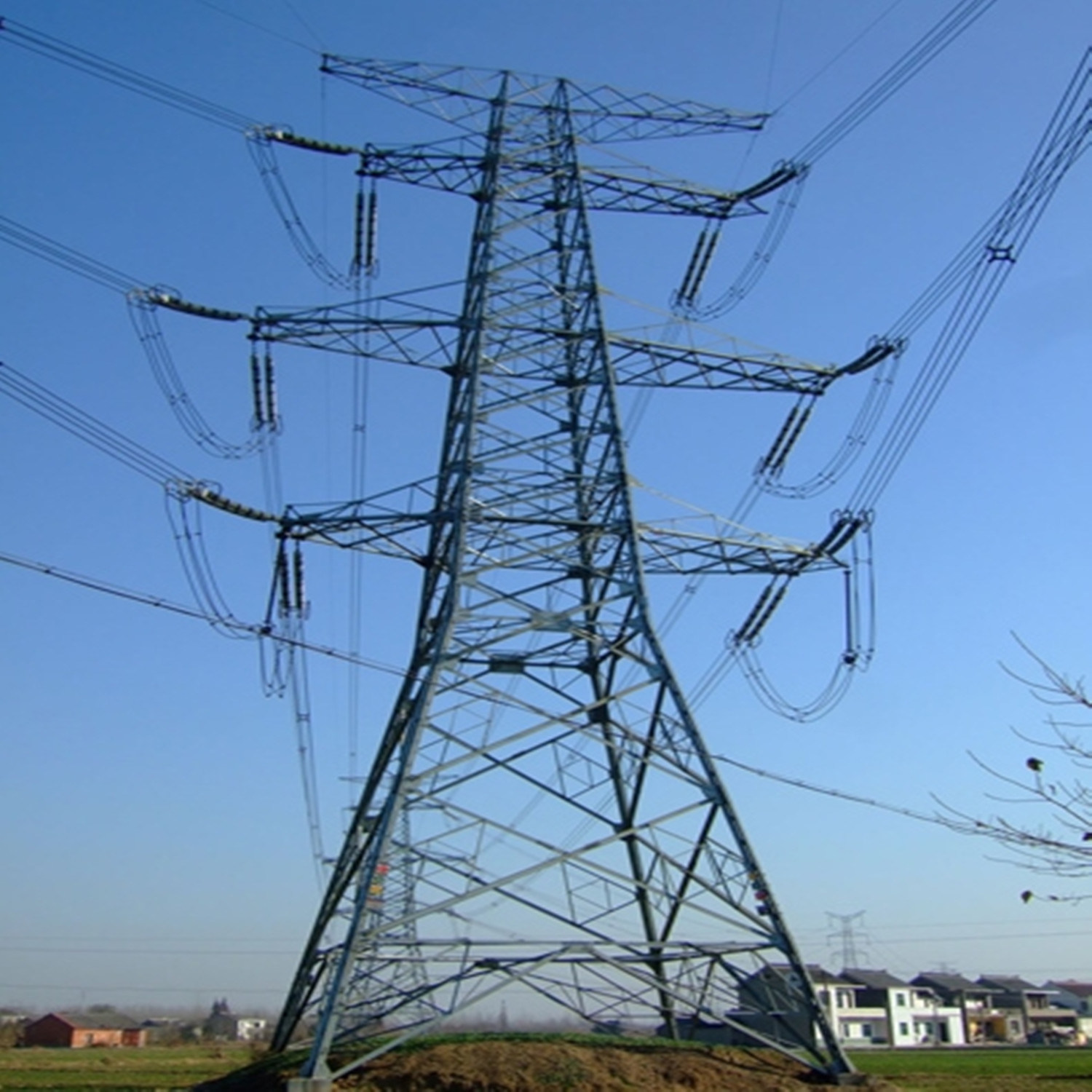 132kv Steel Towers, Transmission Tower for Overseas Powertransmission Project