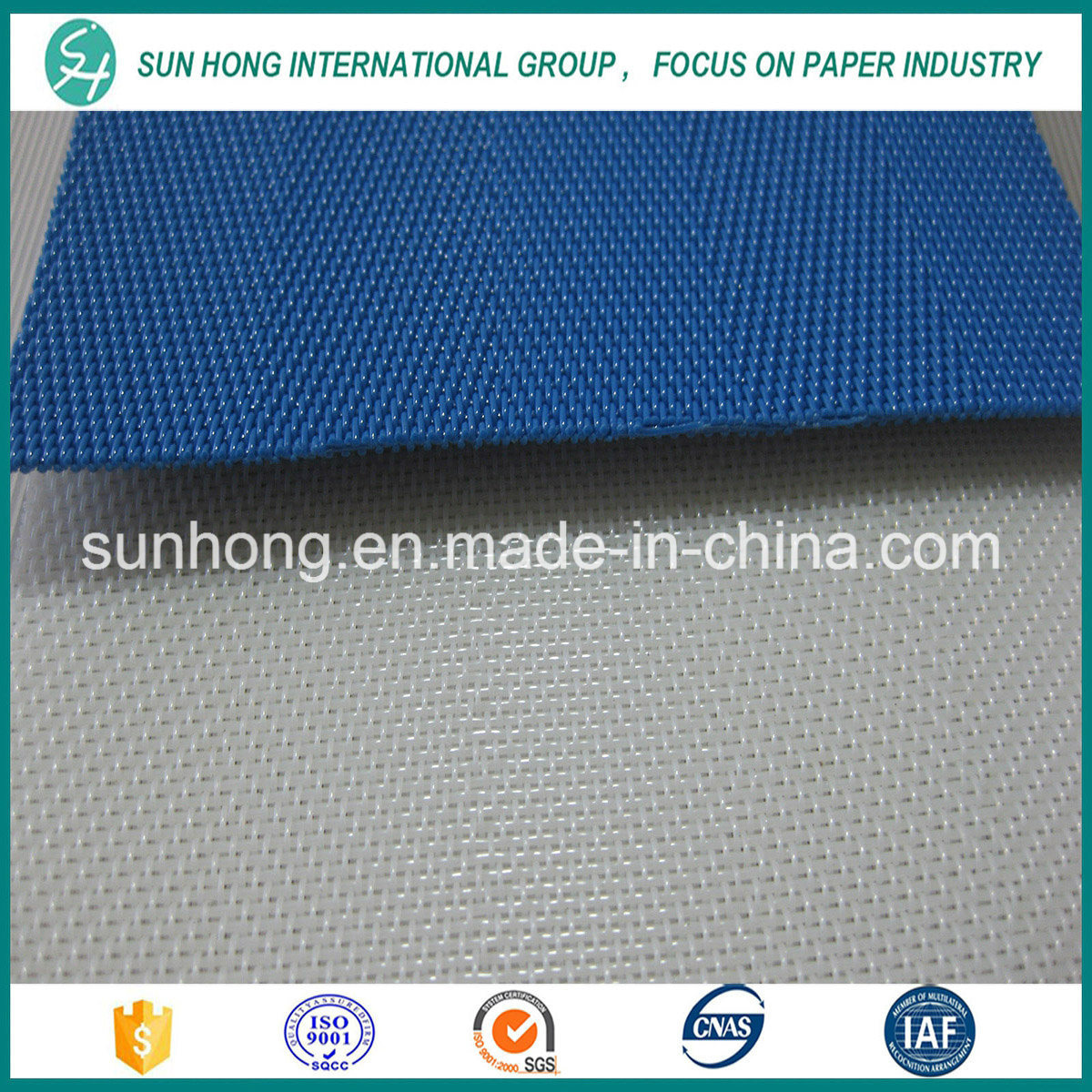 100% Polyester Spiral Dryer Mesh Fabric for Paper Machine
