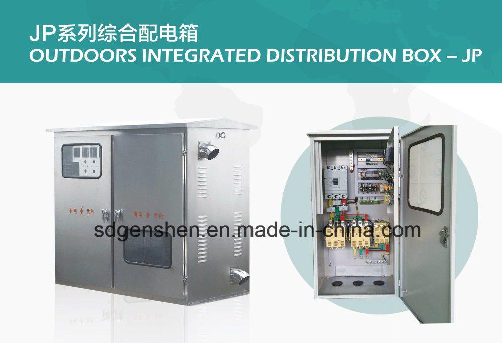 Jp-02 Outdoor Stainless Steel Water-Proof IP 56 Integrated/Comprehensive Distribution Box with Compensation/Control/Terminal/Lightning Function