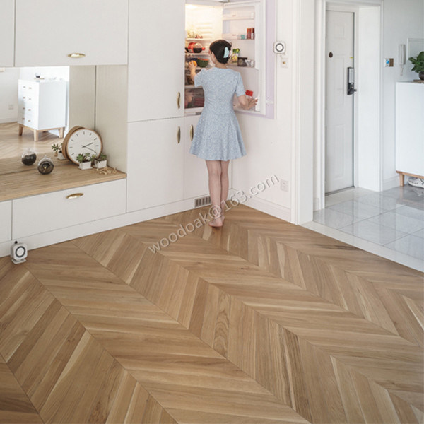 Herringbone Hardwood Flooring/Fishbone Oak Wood Parquet/Oak Parquet Flooring
