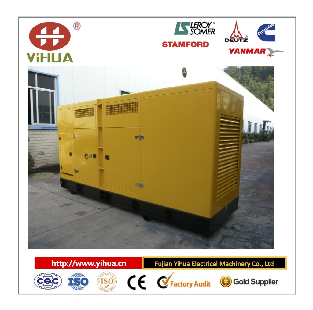Cummins Dece New Design 200-1500kw Silent Power Generator Set