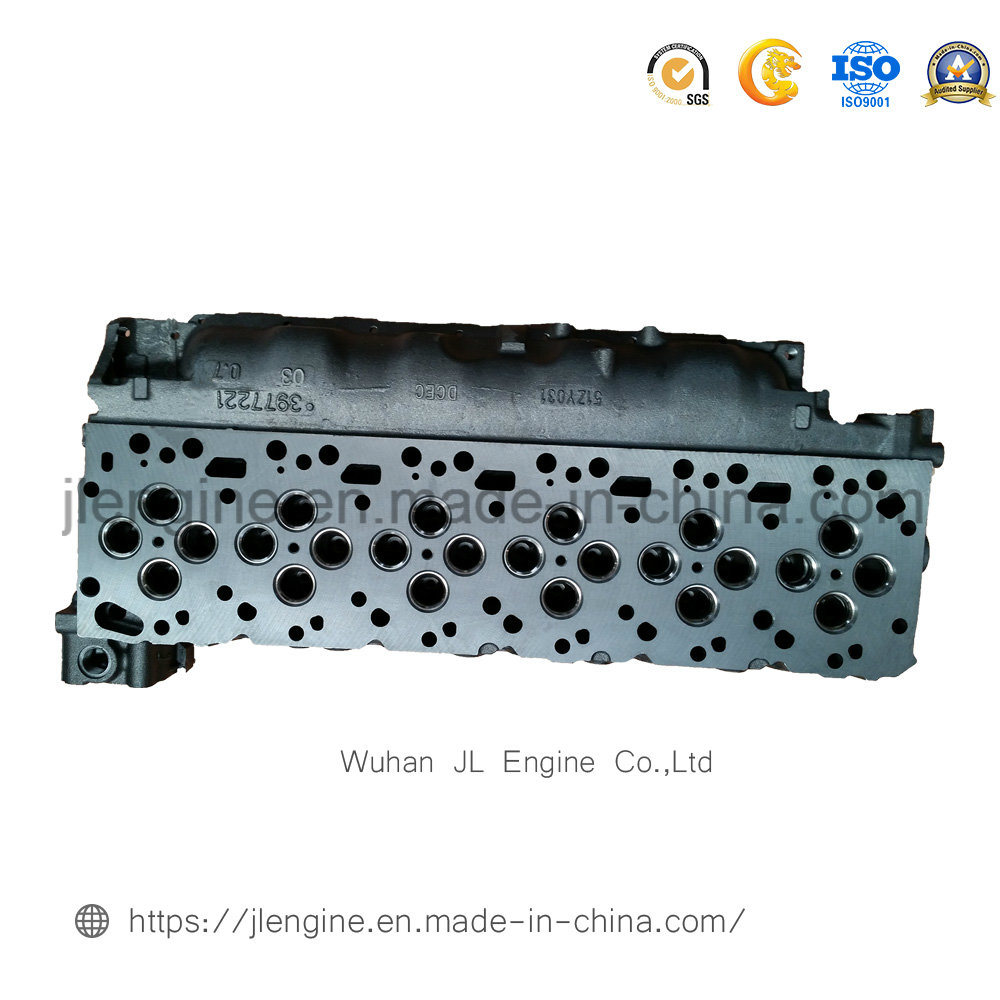 4936081 3977221 Isde 6D Qsb6.7 Engine Spare Parts Cylinder Head