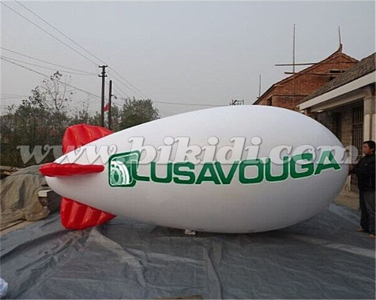 Good Price Inflatable Helium Blimp, Large Inflatable Zeppelin K7089