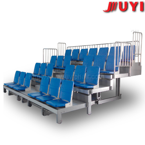 Jy-720s Factory Price Fabric School Bleachers Grandstands Movable Bleachers Retractable Seating