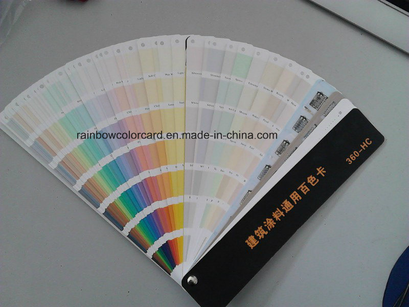 Standard Fandeck Color Card for Architectural Paints