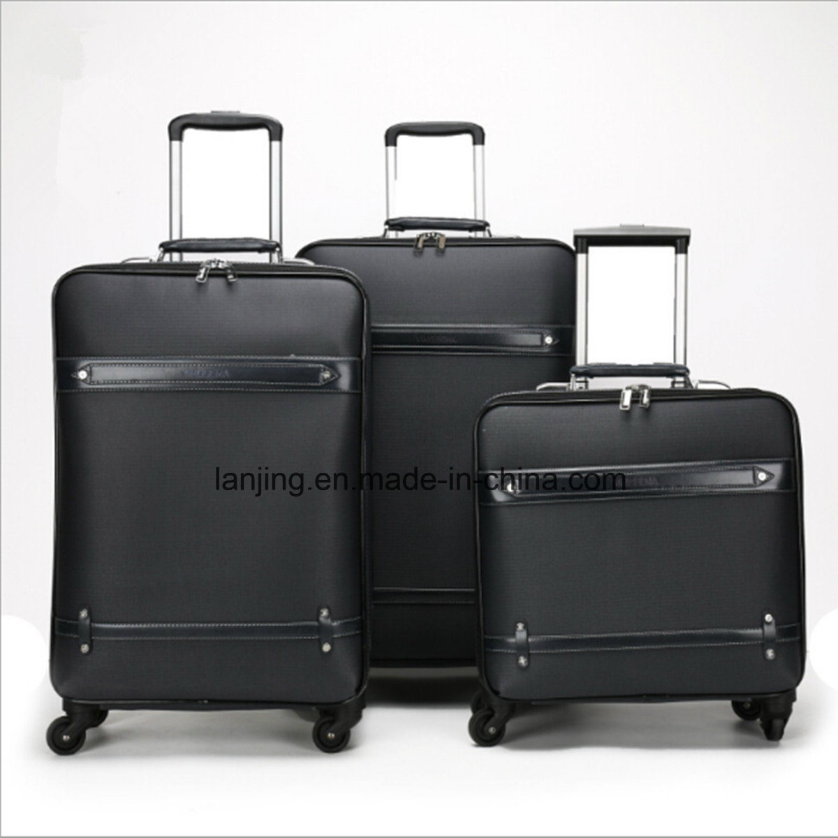 Canvas Trolley Travel Luggage, Softside Laptop Trolley Bag