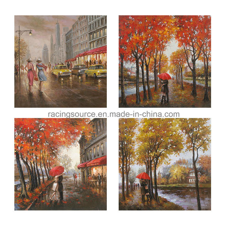 Landscape Handmade Oil Canvas Painting Wall Art Printing Canvas