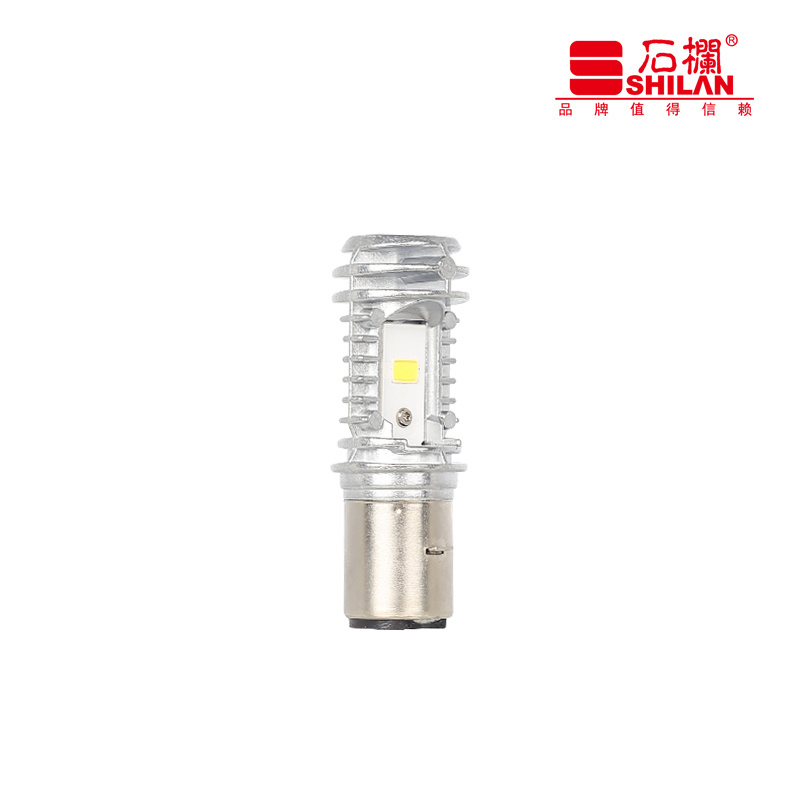 1200lm Motorcycle with Convex Lens LED Headlight 10W DC9-85V Ba20d
