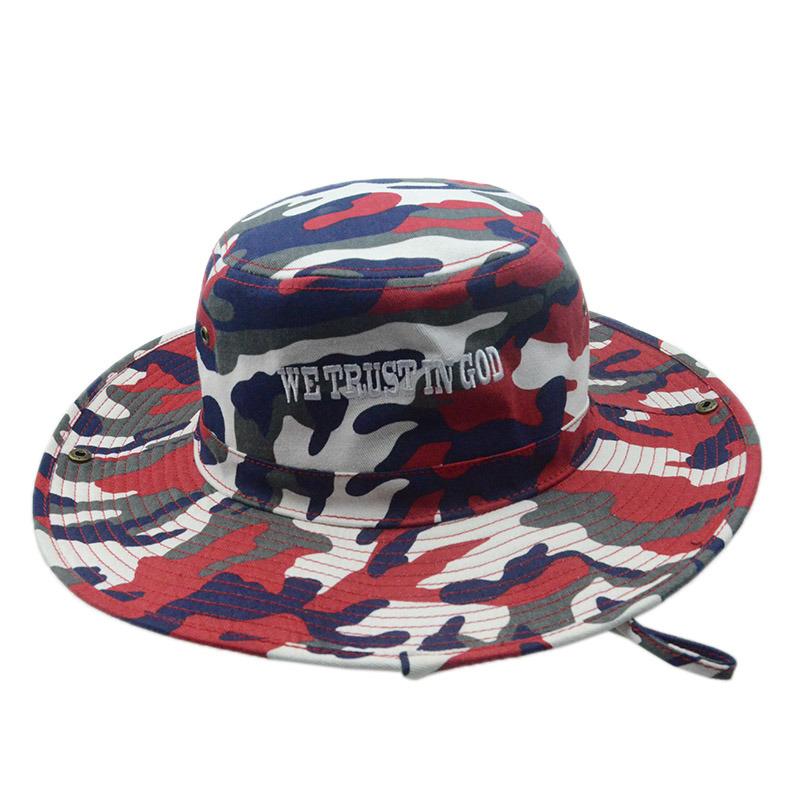 Custon Fashion Outdoor Fishing Summer Cap Bucket Hat