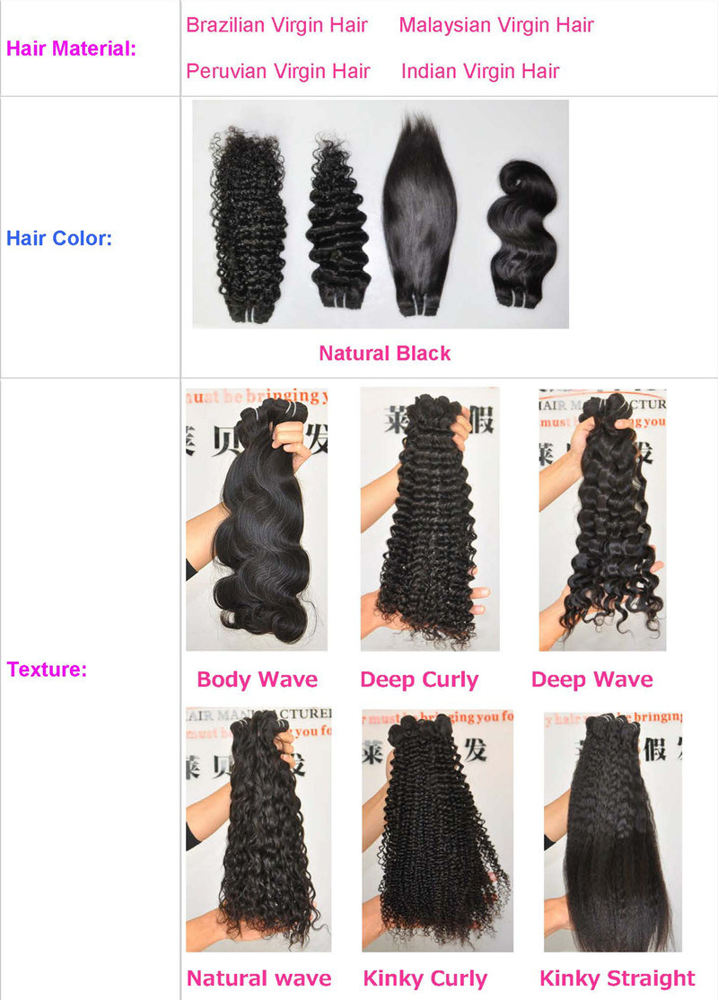 100% Natural Kinky Curly Virgin Brazilian Human Hair Extension Lbh 117