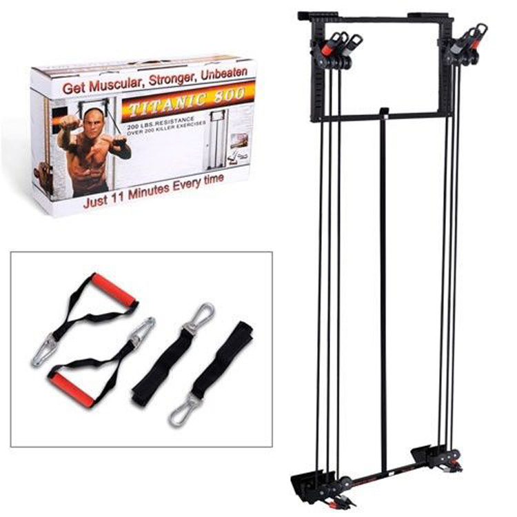 Easy Used Cheap Portable Foldable Home Gym Door Fitness Equipment Tower Workout