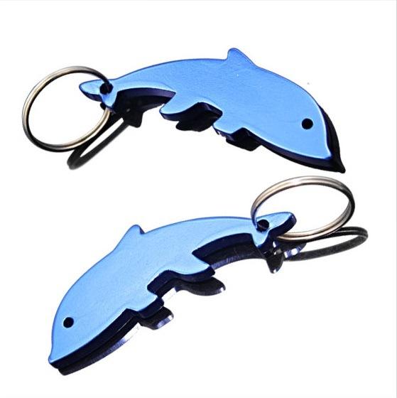 Promotional Dolphin Bottle Opener Keychain (AK-021)
