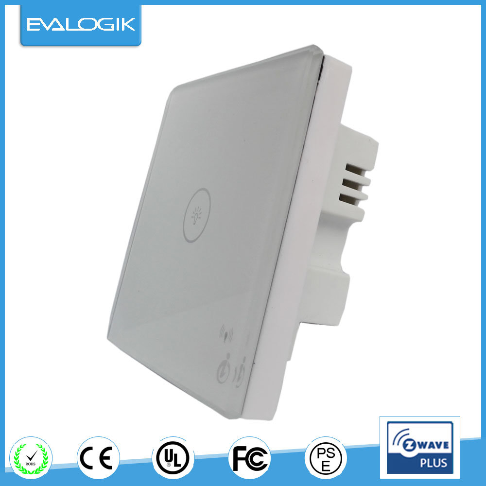 Z-Wave Touch Switch with Dimmer
