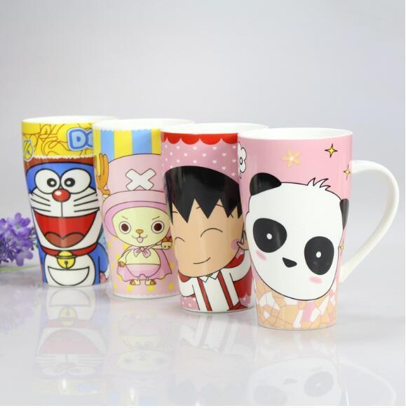 Color Glazed Customized Design Coffee Tea Ceramic Cups Mugs