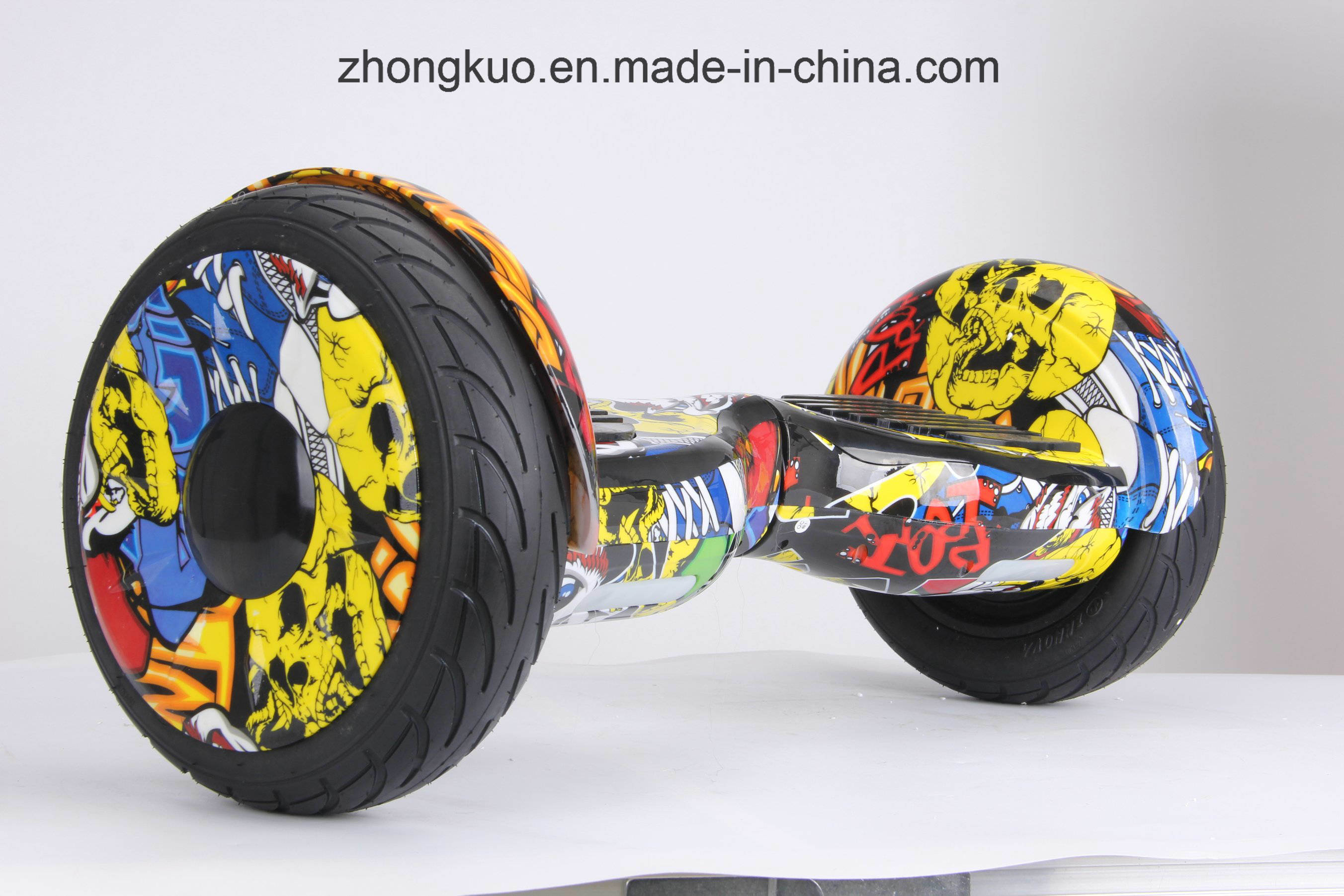 2017 Two Wheels Zebra Cross-Country Hoverboard Electric Skateboard bluetooth Musical Self Balancing Scooter