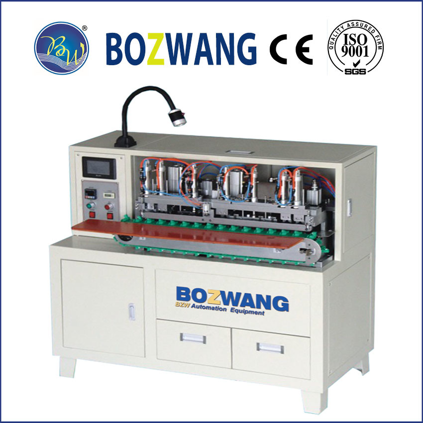 Wire Stripping, Twisting and Tinning Machine