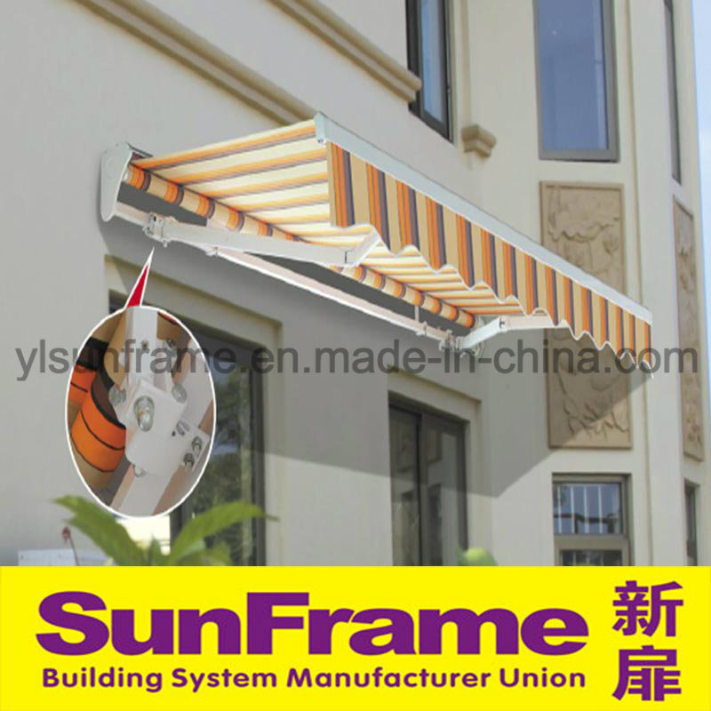 Aluminium Profile Retractable Awning for Store