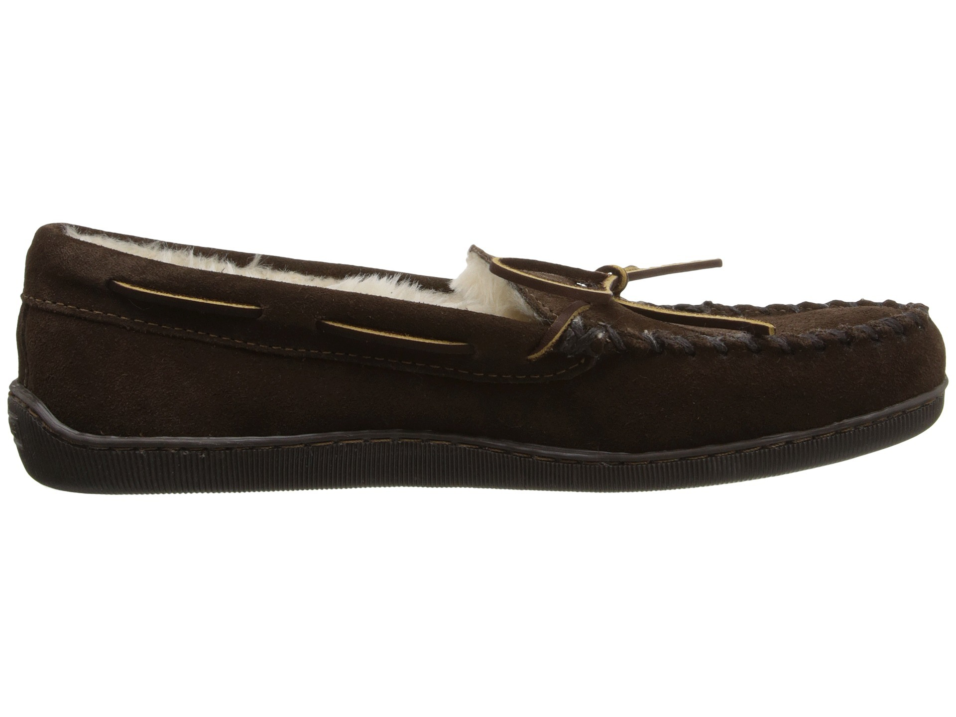 Memory Foam Insole Side Stitch Moccasin