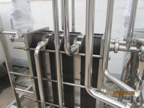 Ice Cream Plate Exchanger for Cooling