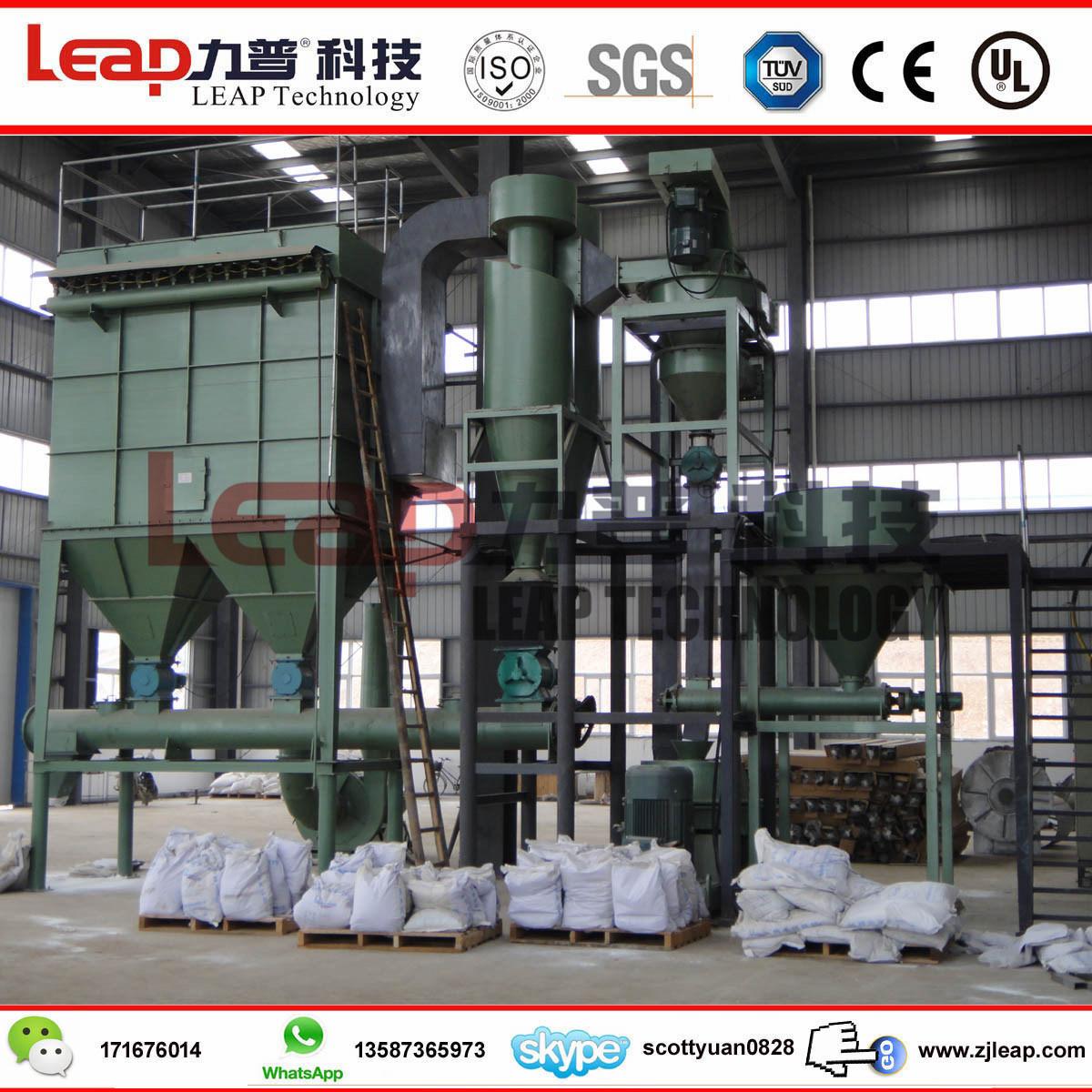 Ce Certificated Gypsum Powder Superfine Grinder Mill