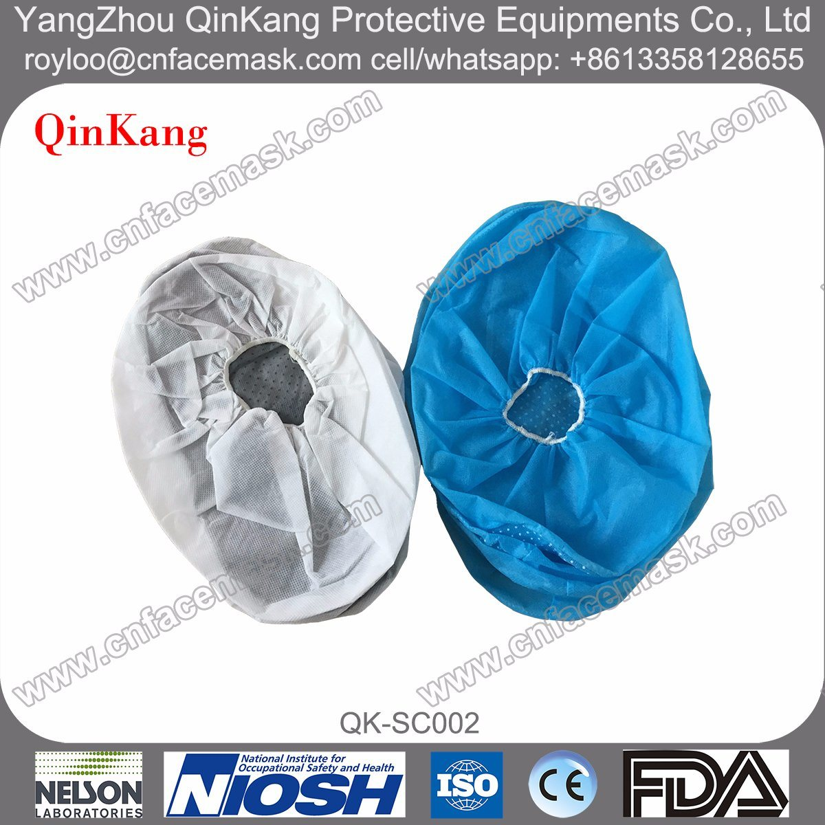 Medical Equipments PP Non Woven Non-Slip Shoe Cover