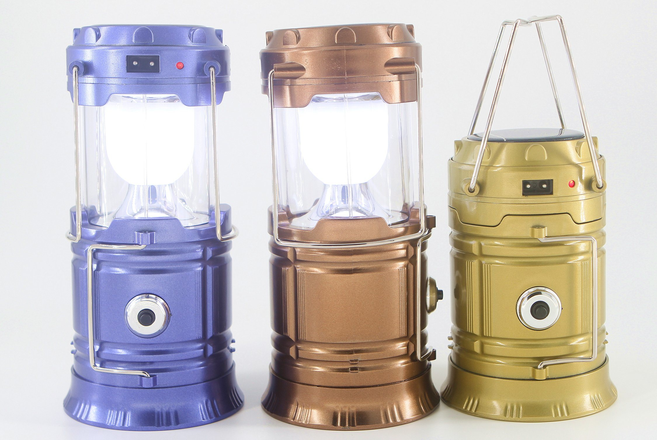 Ningbo Wholesale Rechargeable Solar Camping Lantern Portable Outdoor LED Camping Lantern