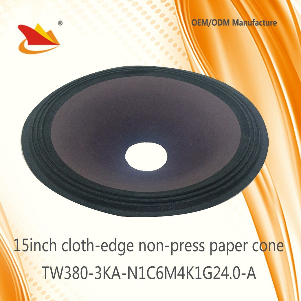 Best Price 2017 Free Sample Speaker Parts 15inch PA Paper Cone - Speaker Cone