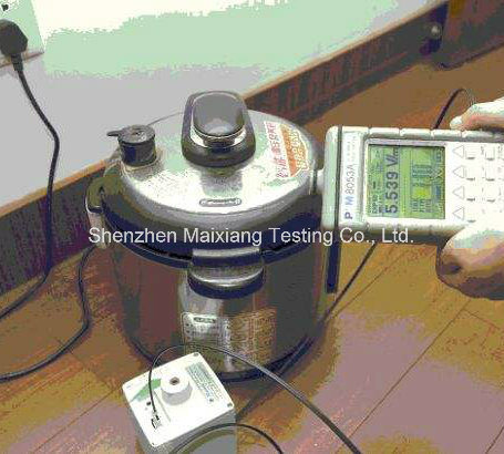 Quality Control/Final Inspection Service for Home Appliance Testing