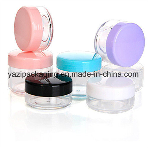 15g 20g PS Plastic Cosmetic Cream Jar and Container