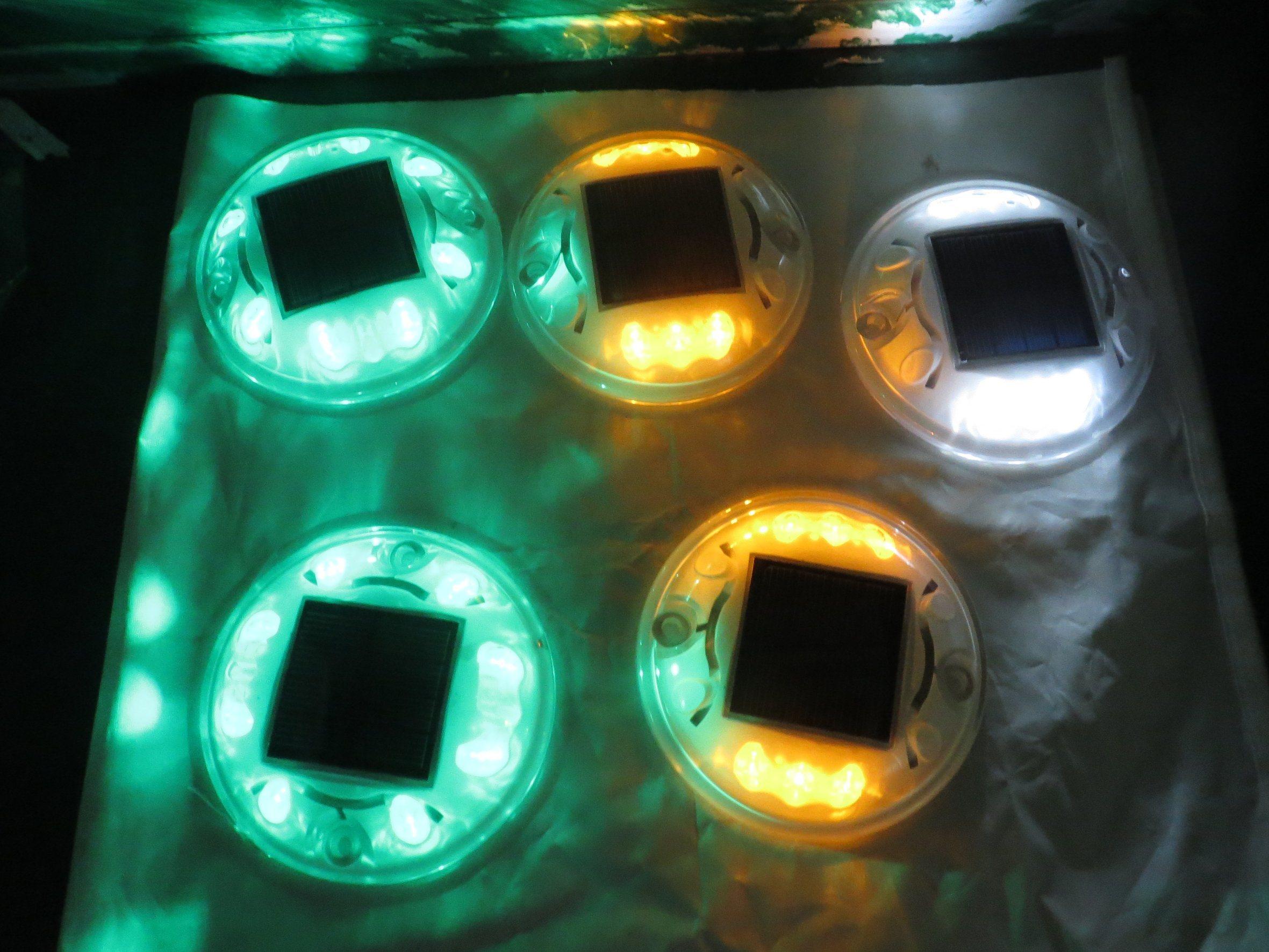 Reflective Aluminum Solar LED Road Studs (CC-SRS11)