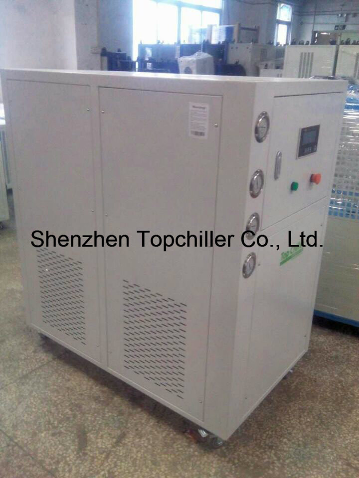 9kw-16kw Water Cooled Glycol Chiller with Copeland Hermetic Scroll Compressor