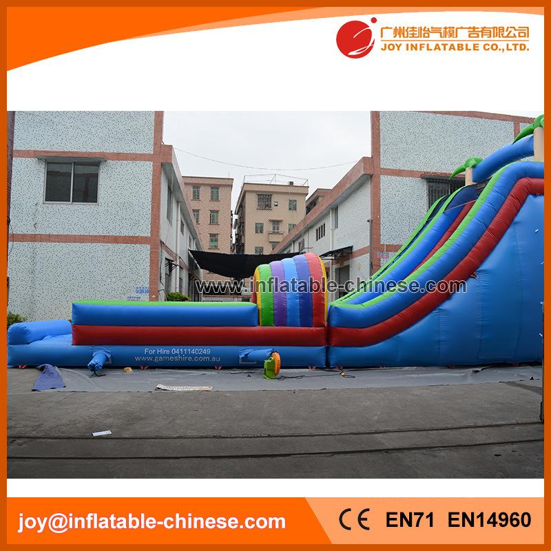 Giant Inflatable Hot Summer Jungle Park Slide (T11-099)