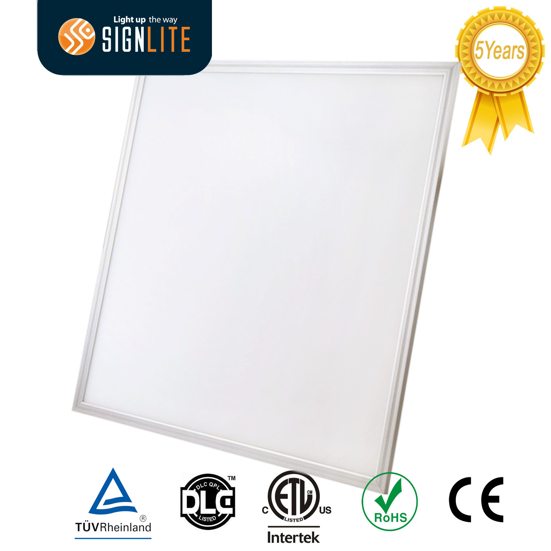 Dlc 4.0 ETL TUV FCC LED Panel Light LED Panel Ceiling LED Panel Lamp with CRI 90 Ugr 19 120lm/Watt