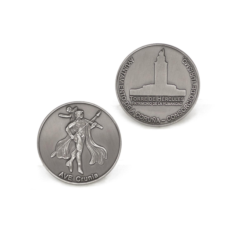 Custom Die Casting Enamel Antique Metal Coin