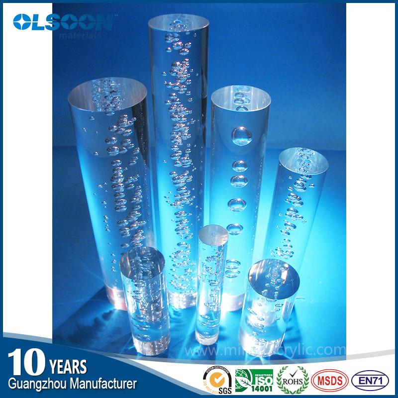 Guangzhou Manufacture Olsoon Acrylic Bubble Rod