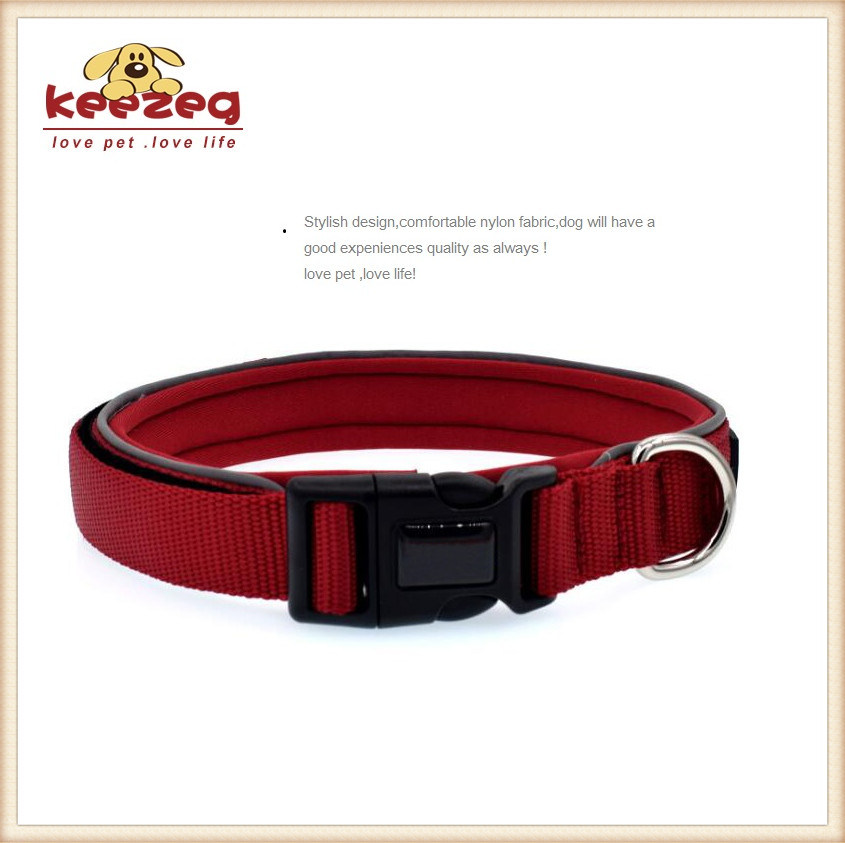 Double Side Nylon Reflective Dog Collars/ Durable (KC0092)