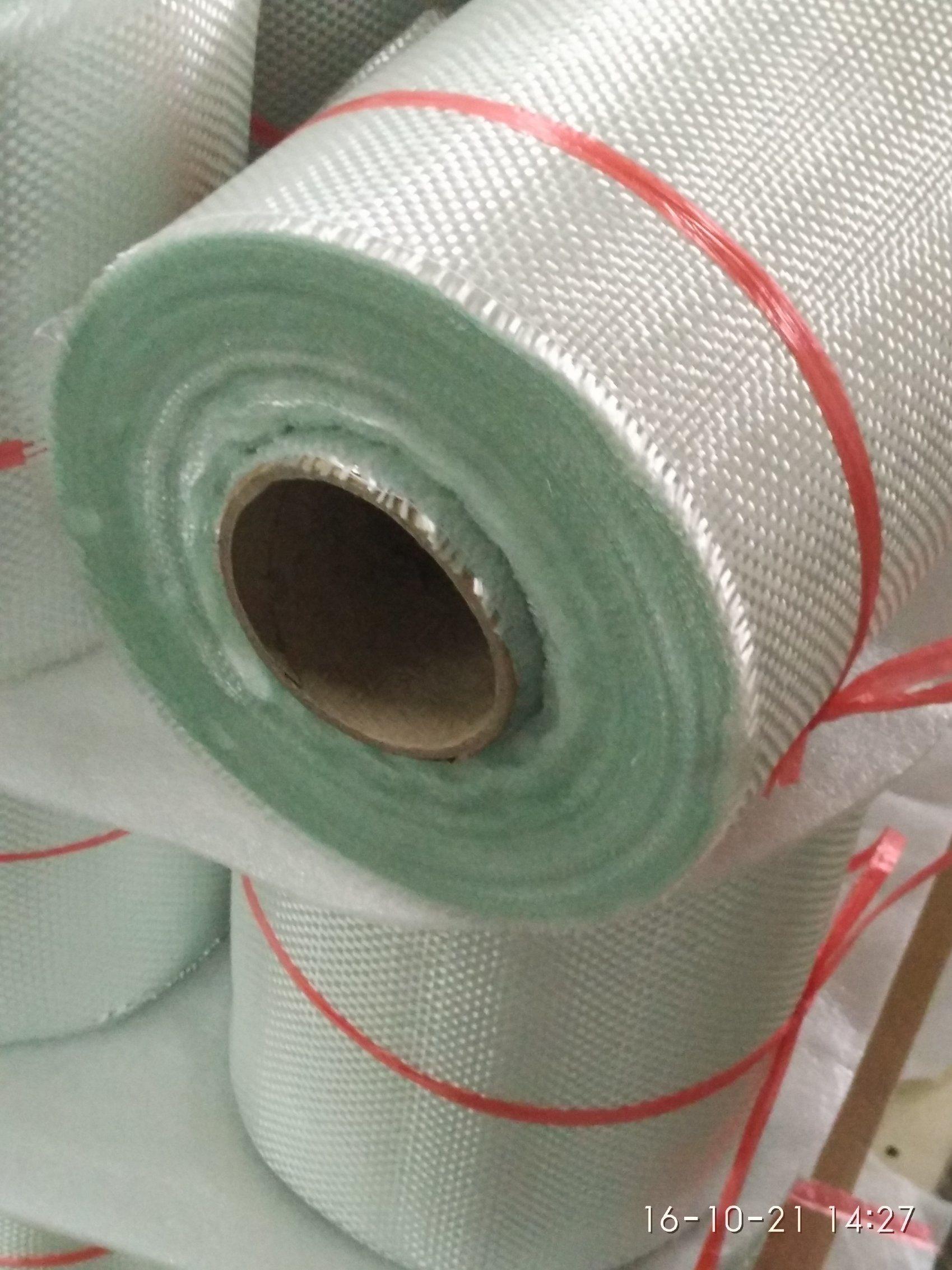 Very Soft E-Glass Fiber Glass Woven Roving, Fiberglass Fabric 600g