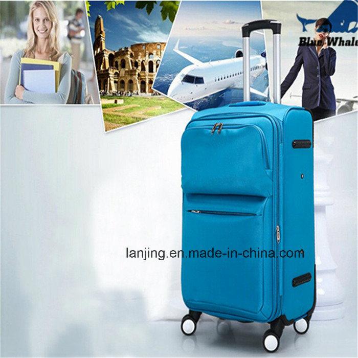 600d/1200d Polyester Soft Luggage Trolley Luggage/Luggage Bag