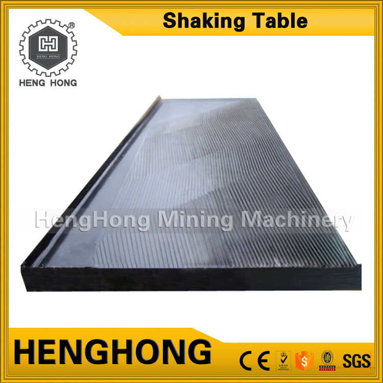 Mining Equipment Gravity Separation 6s Gold Shaking Table