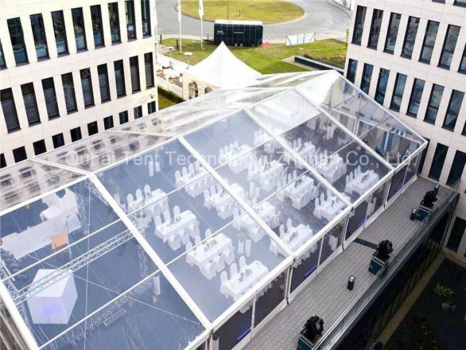 15m X 25m Clear Roof Cover Event Tent