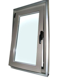 Aluminum Vertical Sliding Window Design American Style Double Hung Window