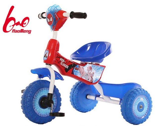 2016 New Model Lovely Plastic Spider Baby Tricycle Trike for Small Kids with En, Ce