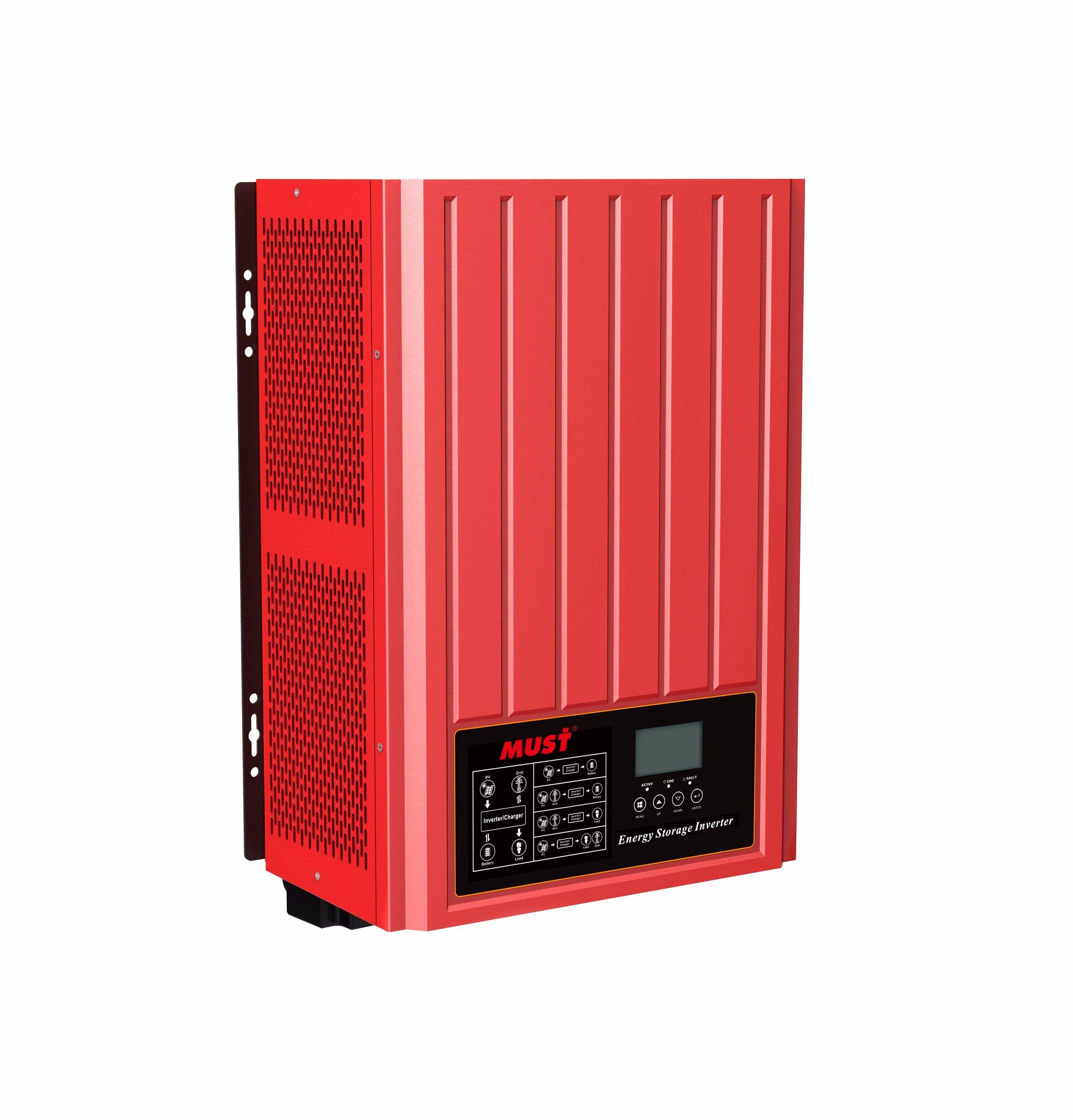 48V DC to 220V AC MPPT Hybrid Solar Inverter 3000W