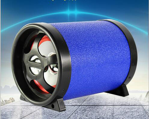 5 Inch Circular Car Audio Bluetooth Portable Professional Speaker