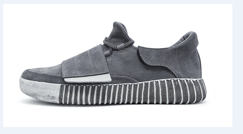 Low Top Leather Casual Shoes (CAS-037)