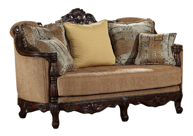 American Classical Living Room Fabric Sofa for Home
