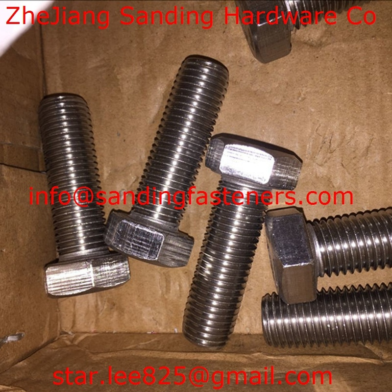 Stainless Steel 304 Hex Head Bolt/ DIN933/Hex Bolts