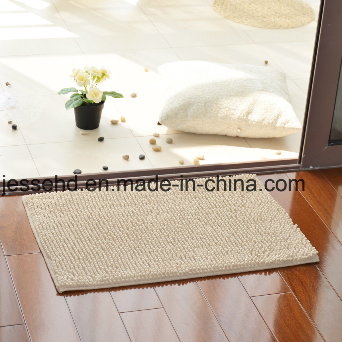 Hot Design Various Size Chenille Living Room Kitchen Carpet