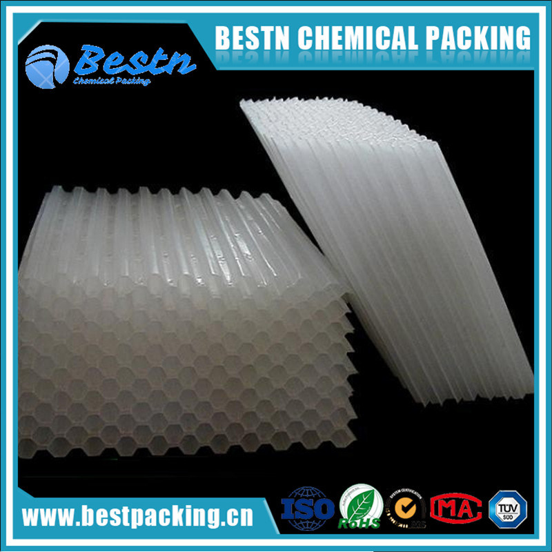 Plastic Lamella Clarifiers for Tap Water and Waste Water Purify