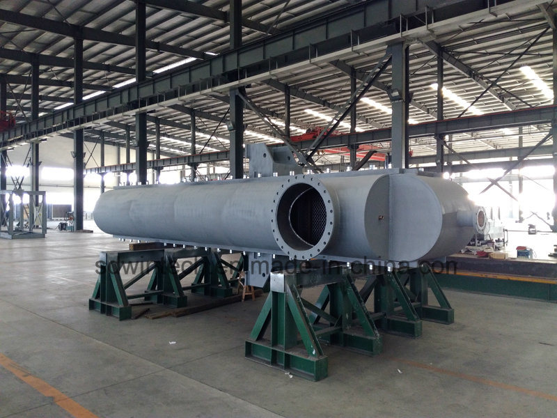 WBZ 700 Semi-Circular Shell All Welded Plate Heat Exchanger/High Pressure/High Temperature